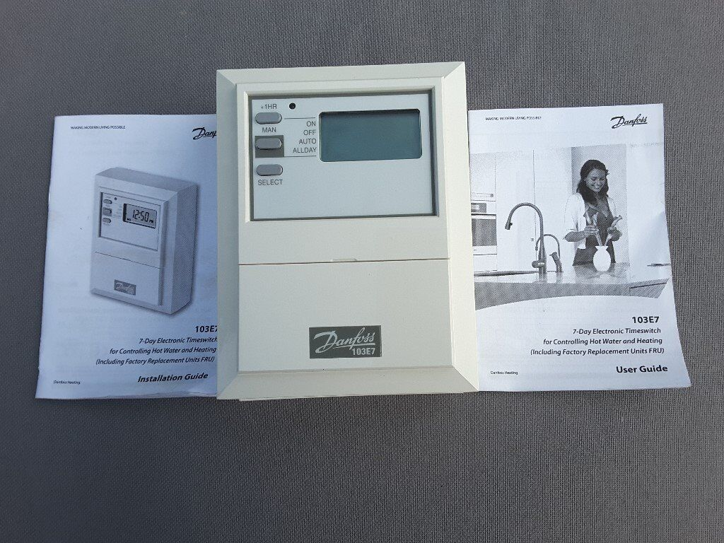 Danfoss 103e7 Electronic Central Heating Programmer | in Whitefield ...