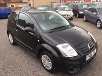 Citroen C2 1.1 i 8v VT 3dr 2009 (59 reg), Hatchback (30 days warranty) £1499