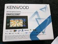 Kenwood DNX-5220BT 6.1 inch Wide Double-Din Size Navigation System With Bluetooth Brand new