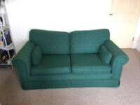 Pair of two seater sofas. High quality, good condition. Available individually or together.