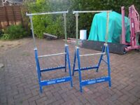 2 x Trestles in good condition