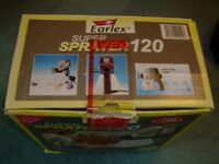 Earlex Super Sprayer 120 - in original box and instructions and accessories