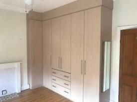 Bedroom fitted wardrobes an draws