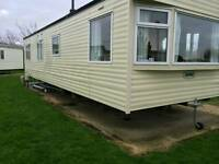 Static caravan 8 birth Church Farm Haven Chichester