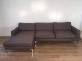 Dwell Modern corner sofa with free delivery within London