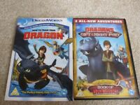 How to Train your Dragon DVDs 1 & 2. Like New