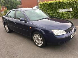 FORD MONDEO 2.0 TDDI GHIA X 12 MONTHS MOT LEATHER SEATS SUNROOF