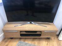 John Lewis Solid Oak TV Stand Media Unit