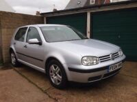 VW GOLF 1.6 PETROL.