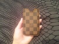 Almost new brown Louis Vuitton IPhone 4 case. 100% genuine.
