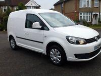 VW Caddy Match VAN 1.6TDI 102PS Manual White 2012