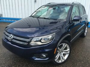 2012 Volkswagen Tiguan Highline AWD *LEATHER-SUNROOF*