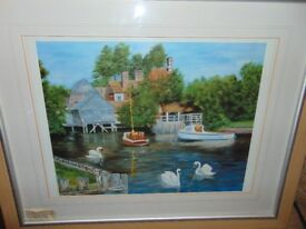 2 Original Water Colour Paintings