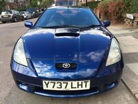 2001 Toyota Celica in great condition and full service history
