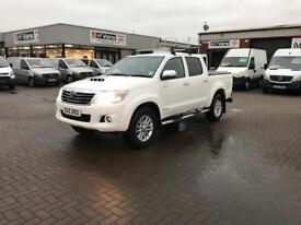 2014 Toyota hilux 3.0 invincible pick up £13995 or £291 p/m j&ft&v mallusk