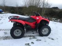 Honda Trx 420 farm quad 4x4