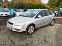 2008 FORD FOCUS 1.6L—FULL YEAR MOT —WARRANTY 3 MONTHS