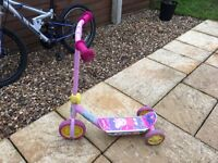 Peppy pig scooter