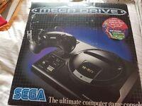 Sega Mega Drive (Version 1) with 2 Controllers