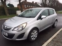 2014 Vauxhall Corsa 1.2 Silver Excellent conditon 0 previous owner 1 year MOT and Tax only 24k miles
