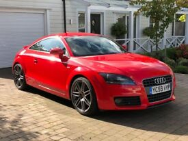 AUDI TT 2.0 TFSI S LINE (SPECIAL EDITION) - FULL LEATHER - FULL AUDI SERVICE HISTORY - 1 YEAR MOT
