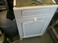 Zanuci integral dishwasher ZT455, 450mm wide, hardly used full working order