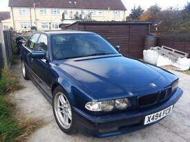 X reg. BMW 728i PETROL?LPG this car is sold