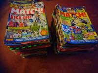 Over 250 Match Magazines & 16 Match annuals/books