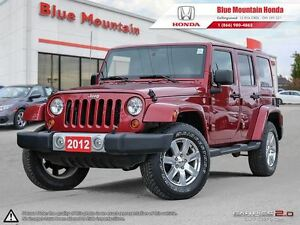 2012 Jeep WRANGLER UNLIMITED Sahara  Like new!