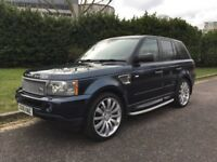 Cheap Road Tax - 2006 LAND ROVER RANGE ROVER SPORT DIESEL ESTATE 2.7 TDV6 HSE 5dr AUTO, LADY OWNER