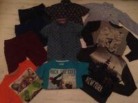 Boys Mixed Bundle - Shorts, T Shirts, Shirts Next / Primark aged 8-9 smoke free home