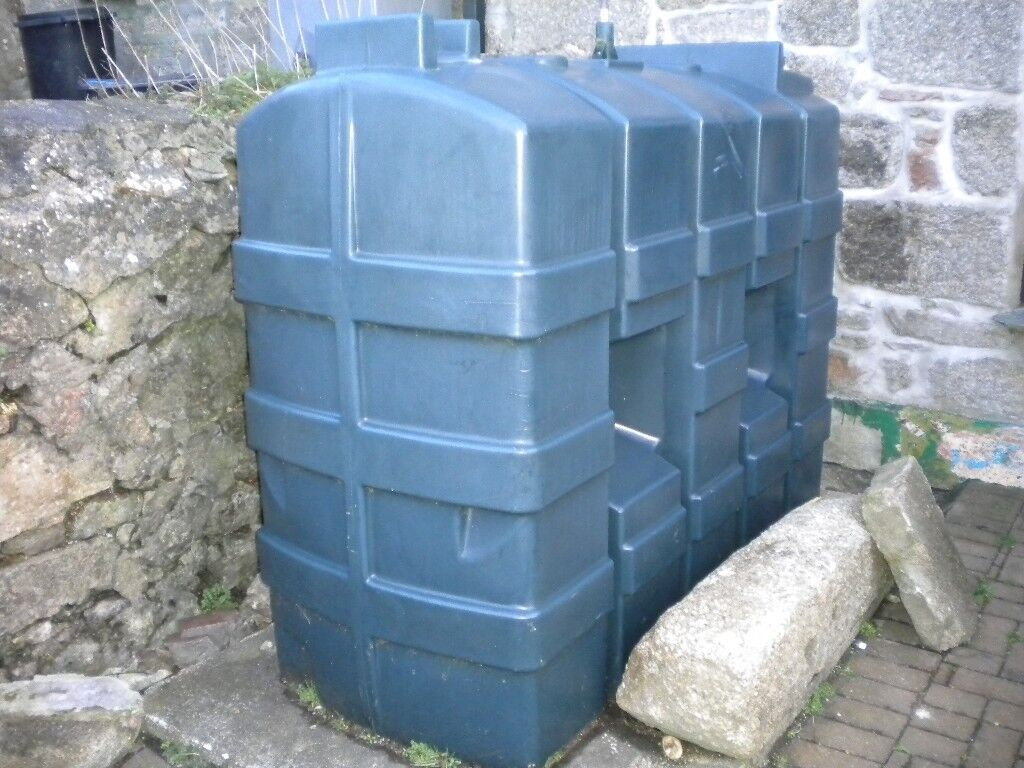 Redundant Central Heating oil tank. Ideal for original use or Diesel ...