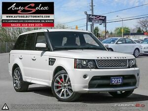 2013 Land Rover Range Rover Sport Autobiography **SUPERCHARGE...