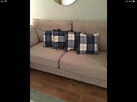 Tartan cushion covers