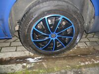 v w t 4 t 5 wheels and Tyre's