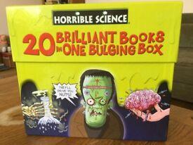 Horrible Science box set