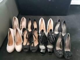 size 3 bundle of shoes