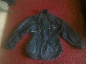 Motorcycle over jacket