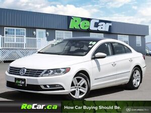 2014 Volkswagen CC Sportline REDUCED   HEATED LEATHER   BACK...