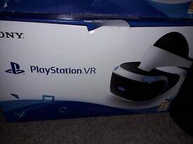 BARGAIN !!! Boxed Playstation VR + camera