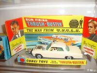 Dinky, Corgi, Matchbox, Spot On and other Diecast Toys wanted. Collections or individual pieces
