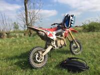 Wpb race 125 pitbike