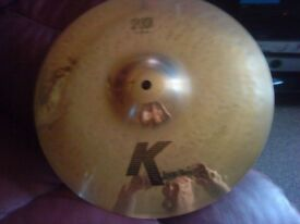 ZILDJIAN K SPLASH CYMBAL SELL/SWAP
