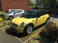 MINI COPPER YELLOW immaculate condition bmw car small car cheap mini copper