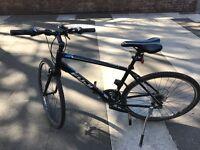 Fuji ABSOLUTE - Black, COMES WITH: Lights / kryptonite bike lock(&x3 keys) / Helmet
