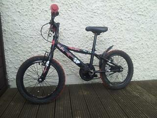 "Apollo Urchin 16"" boys bicycle. Good condition. Would suit 5-7 year old"