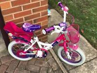 "Raleigh Molly kids bike 14 "" wheels"