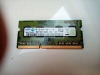 Samsung laptop 2GB memory