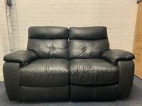 Black electric reclining sofa delivery 🚚 sofa suite couch furniture