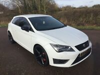 2014 SEAT LEON 2.0 TSi CUPRA 280 AWESOME LOOKER MINT 21K FROM NEW SERVICE DRIVES 100% WOW PX SWAPS